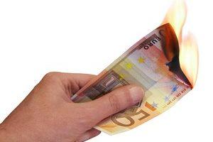 emprestar dinheiro