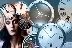 mudança de hora