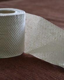 poupar papel higiénico