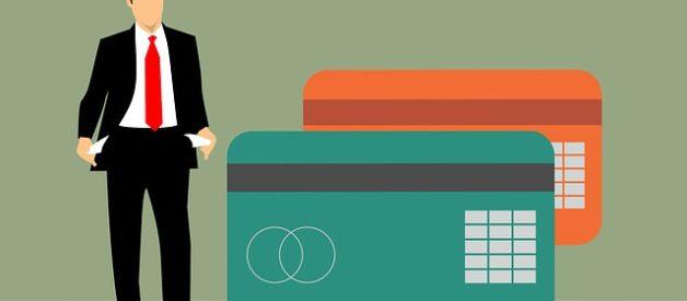 dívidas no cartão de crédito